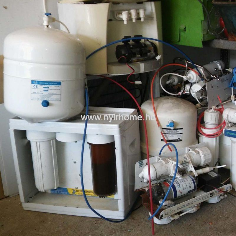 Víztisztító csere program