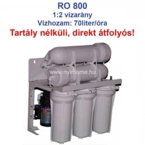RO 800 Reverz Ozmózis víztisztító készülék nyíregyháza